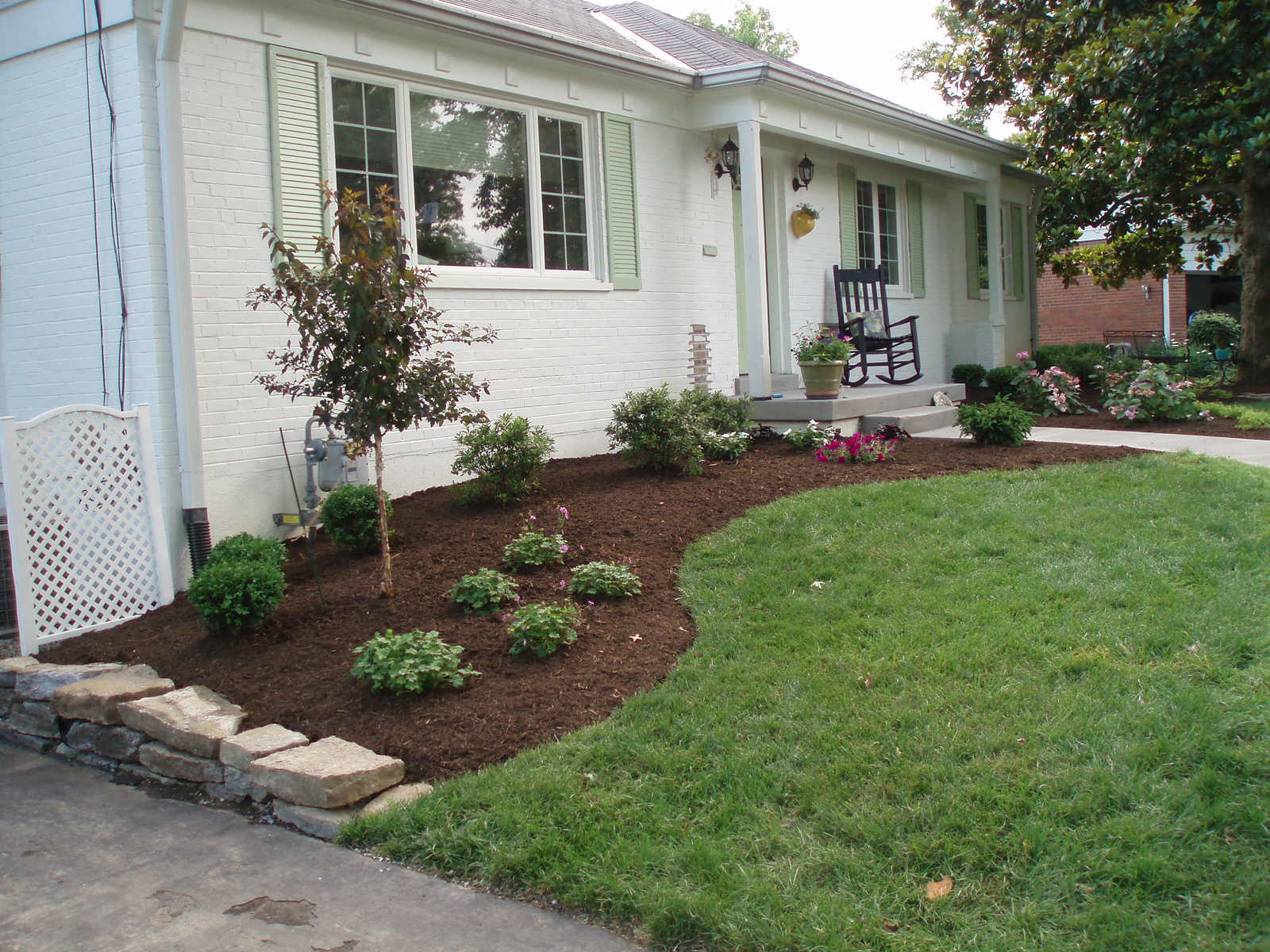 one of our experienced and knowledgeable landscape designers will come out to your home or business and discuss your project